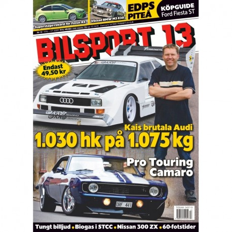 Bilsport nr 13 2009
