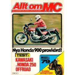 Allt om MC nr 11  1978