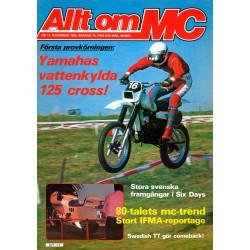 Allt om MC nr 11  1980