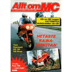 Allt om MC nr 1  1981
