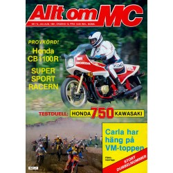Allt om MC nr 7  1981