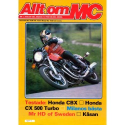 Allt om MC nr 1  1982