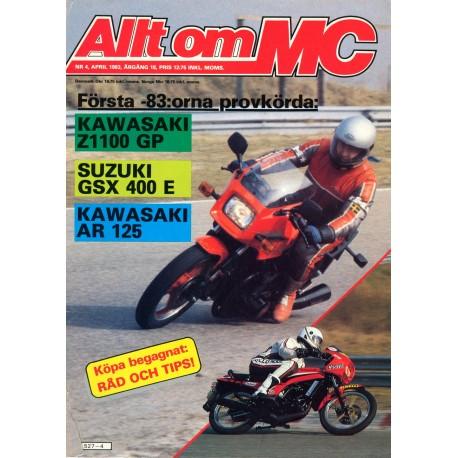 Allt om MC nr 4  1983