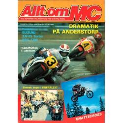 Allt om MC nr 9  1983