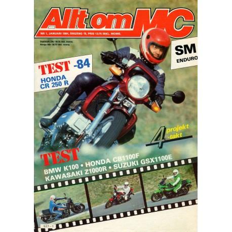 Allt om MC nr 1  1984