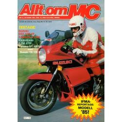 Allt om MC nr 10  1984