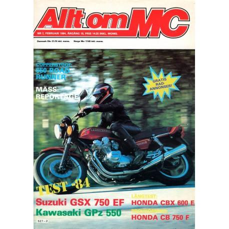Allt om MC nr 2  1984
