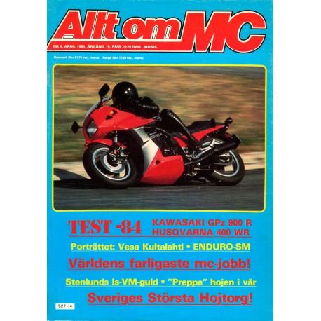 Allt om MC nr 4  1984