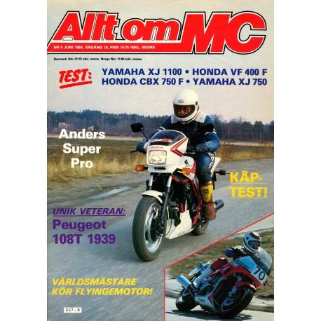 Allt om MC nr 6  1984