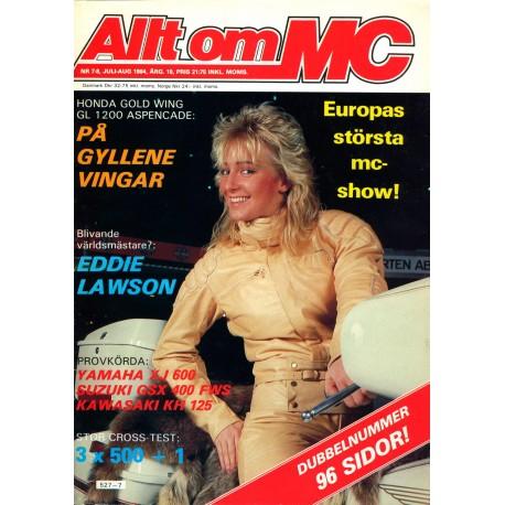 Allt om MC nr 7  1984