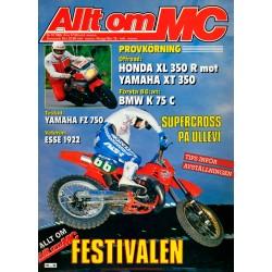 Allt om MC nr 10  1985