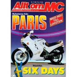 Allt om MC nr 11  1985