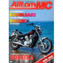 Allt om MC nr 6  1986