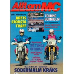 Allt om MC nr 6  1989