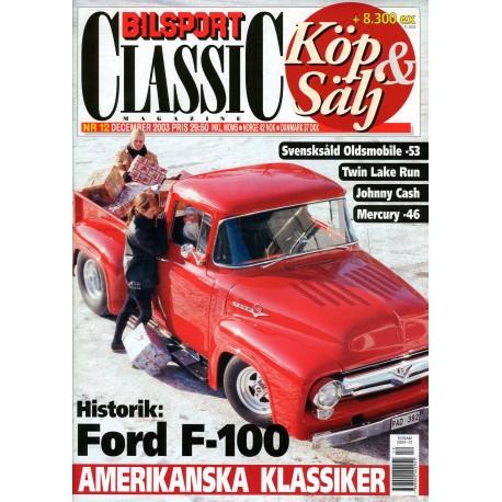 Bilsport Classic nr 12  2003