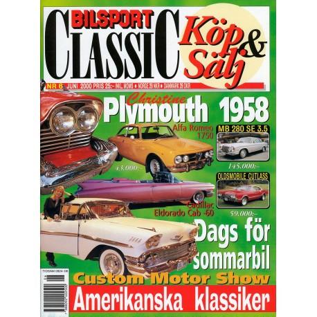 Bilsport Classic nr 6  2000