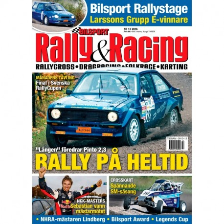 Bilsport Rally & Racing nr 12 2016