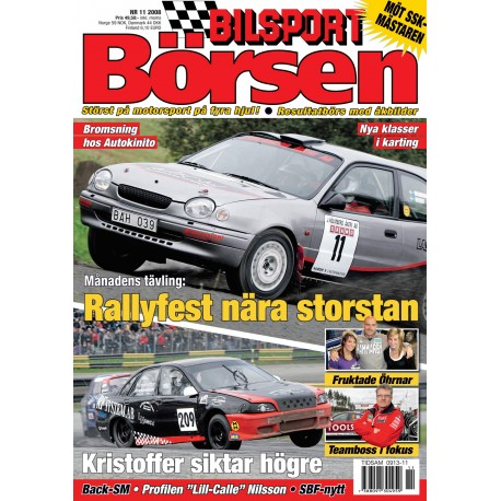 Bilsport Börsen nr 11 2008