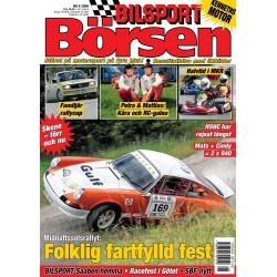 Bilsport Börsen nr 8 2008