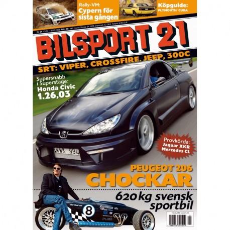 Bilsport nr 21 2006