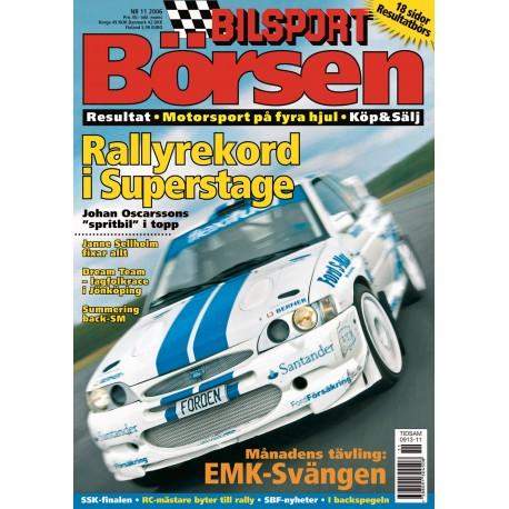 Bilsport Börsen nr 11 2006