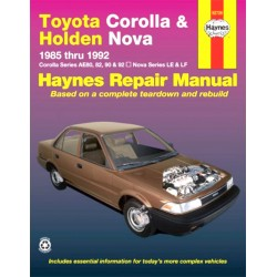 Toyota Corolla Holden Nova  1985-1992