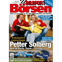 Bilsport Börsen nr 1 2011