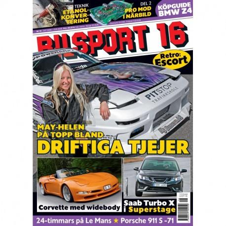 Bilsport nr 16 2008