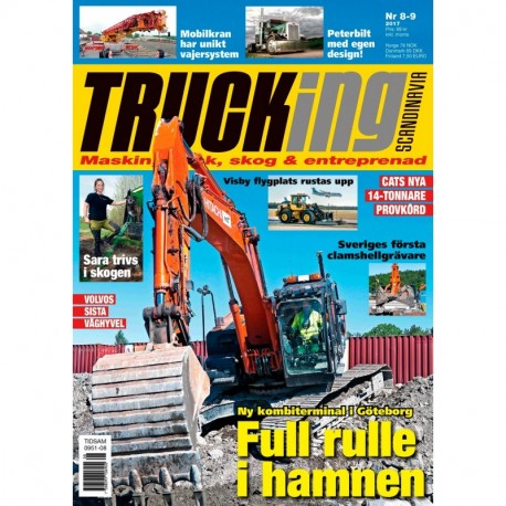 Trucking Scandinavia nr 8-9 2017