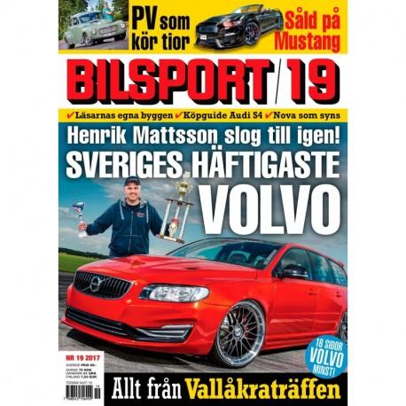 Bilsport nr 19 2017