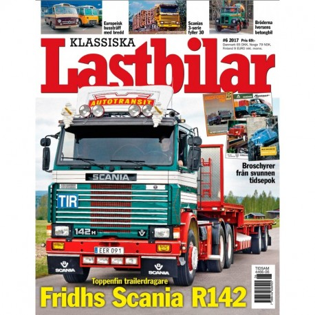 Klassiska Lastbilar nr 6 2017