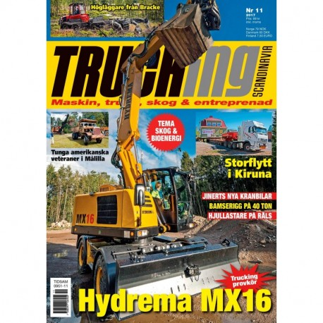 Trucking Scandinavia nr 11 2017