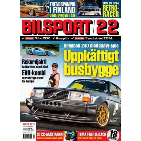 Bilsport nr 22 2017