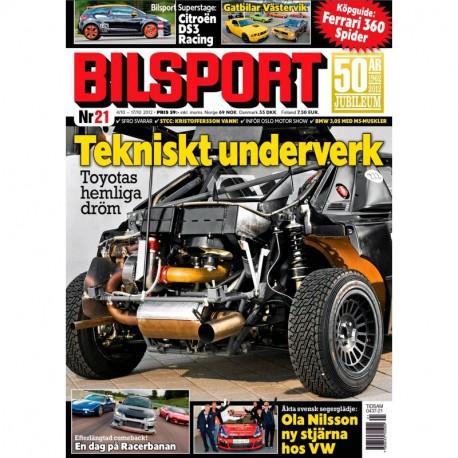 Bilsport nr 21 2012