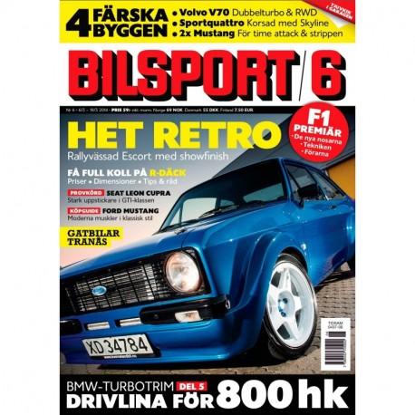 Bilsport nr 6 2014