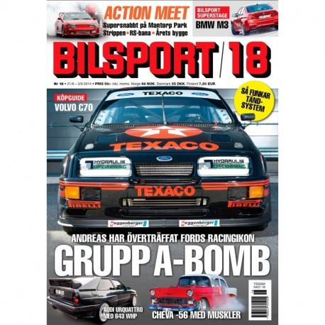 Bilsport nr 18 2014