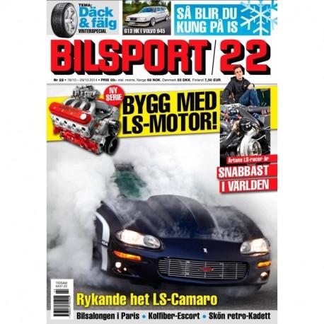 Bilsport nr 22 2014