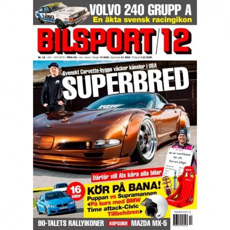 Bilsport nr 12 2016