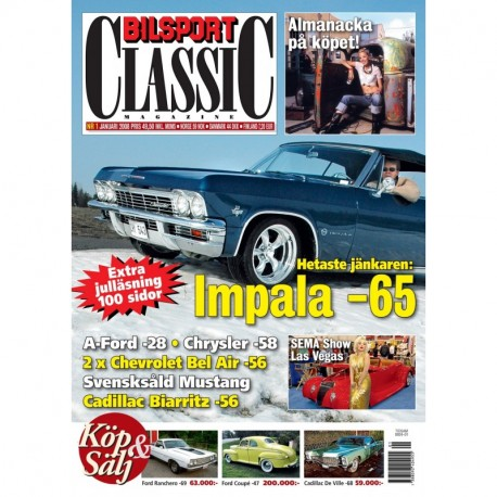 Bilsport Classic nr 1 2008
