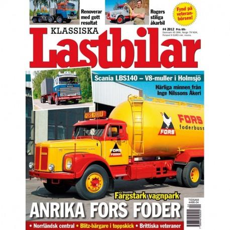 Klassiska Lastbilar nr 4 2012